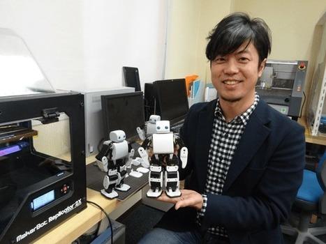 PLEN2 : Le robot open-source qui naît grâce à l'impression 3D | Le monde du mobile et ses nouveaux usages : news web mobile, apps en m sante  et telemedecine, m learning , e marketing , etc | Scoop.it