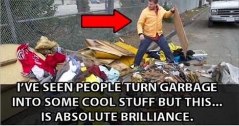Brilliant Man Builds Portable Homes Out Of Trash | Paz y bienestar interior para un Mundo Mejor | Scoop.it