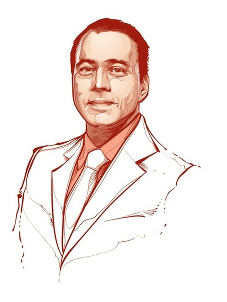 Beautifull Portraits of Brazilian Illustator Cristiano Siqueira | Adobe Illustrator Tutorials | Scoop.it