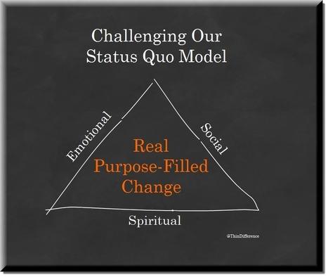 Challenge Your Status Quo   Mediocre Me   Scoop.it