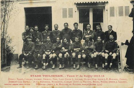 Les Toulousains dans la Grande Guerre : le lourd tribut du Stade Toulousain | Archives municipales de Toulouse | Scoop.it