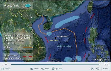 East Asia's maritime disputes | Mr Tony's Geography Stuff | Scoop.it