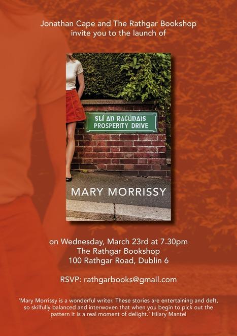 Dublin launch for Prosperity Drive | The Irish Literary Times | Scoop.it