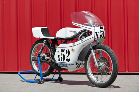 1977 Honda MT125R | TractionLife.com | Vintage, Classic & Custom Motorbikes | Scoop.it