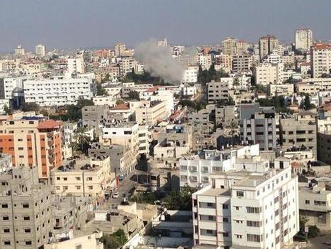 #GazaUnderAttack | WARCRIME! | Israel bombs a hospitals again. Al-Shifa Hospital under fire | Occupied Palestine | Scoop.it