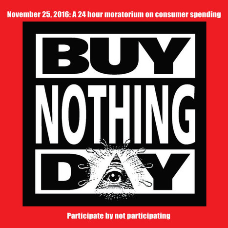Buy Nothing Day - Adbusters | Journal of the mental environment | A Random Collection of sites | Scoop.it