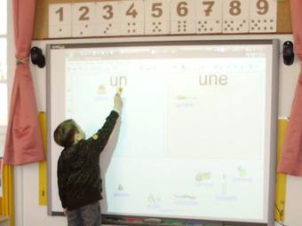 L'École numérique»Des exercices pour TBI en maternelle et CP   Primary French Immersion Education   Scoop.it