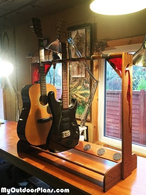 Dragon Multi Guitar Stand | MyOutdoorPlans | Free Woodworking Plans and Projects, DIY Shed, Wooden Playhouse, Pergola, Bbq | Garden Plans | Scoop.it