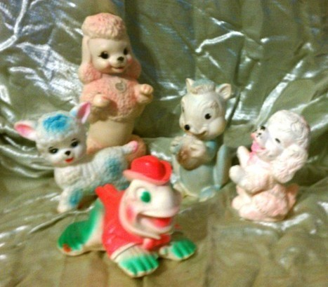 Collecting Vintage Rubber Squeaky Toys | Inherited Values | Kitsch | Scoop.it