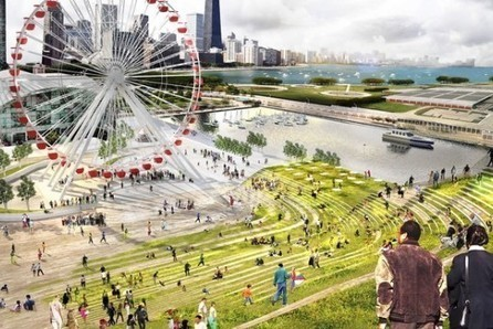 Chicago Pier Redesign Creates Vertical Farms To Feed Local Restaurants @PSFK | Future_Cities | Scoop.it