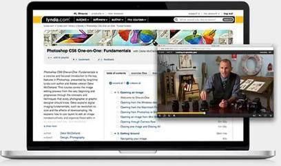 Online video tutorials & training   lynda.com   Education 2.0   Scoop.it