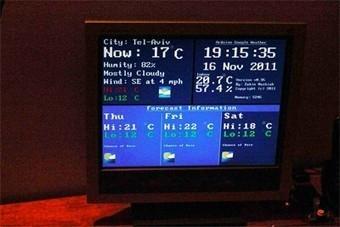 Arduino sends low-fi Google Weather to VGA screens | Arduino Focus | Scoop.it