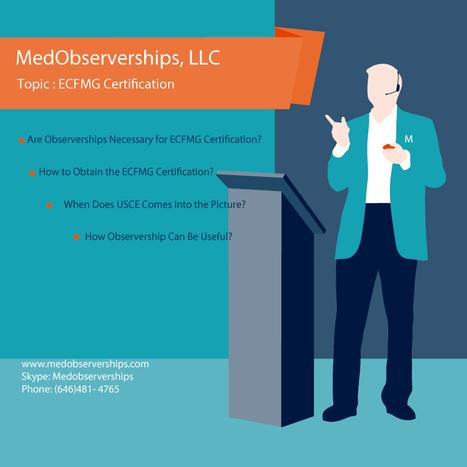 Observerships' in Medical Clinical Observership, Externship ...