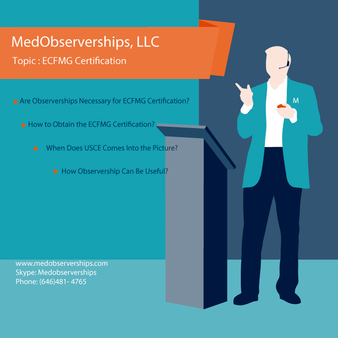 Ecfmg Certification Necessary For Observerships