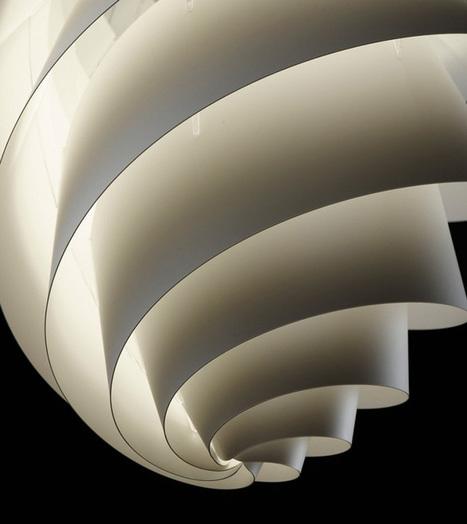 Swirl Lamp by Øivind Slaato for Le Klint | #Design | Scoop.it