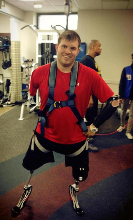 Travis Mills, Quadruple Amputee Soldier, Walks And Inspires Other Wounded ... - Huffington Post | Differently Abled and Our Glorious Gadgets | Scoop.it