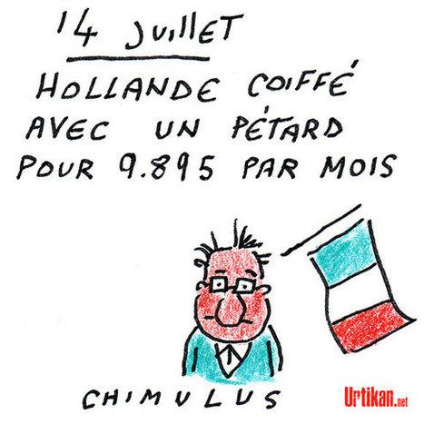 Hollande en «colère» en découvrant le salaire de son coiffeur | Dessinateurs de presse | Scoop.it