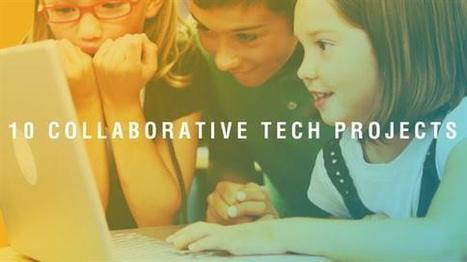 10 Collaborative Technology Projects Your Students Will Love! | Instructional Technology | Scoop.it