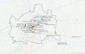 Mapping Movement Using Tweets   OpenSource Geo & Geoweb News   Scoop.it