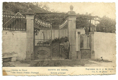 Wish You Were Here ? - 19th c. Postcard of Quinta Do Noval's main entrance.. | The Douro Index | Scoop.it