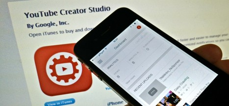 Google's YouTube Creator Studio app is now available for iPhone users too | iPad:  mobile Living, Learning, Lurking, Working, Writing, Reading ... | Scoop.it