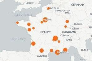 Smart cities : la carte des villes intelligentes en France | Les coups de coeur de D'Dline 2020 | Scoop.it