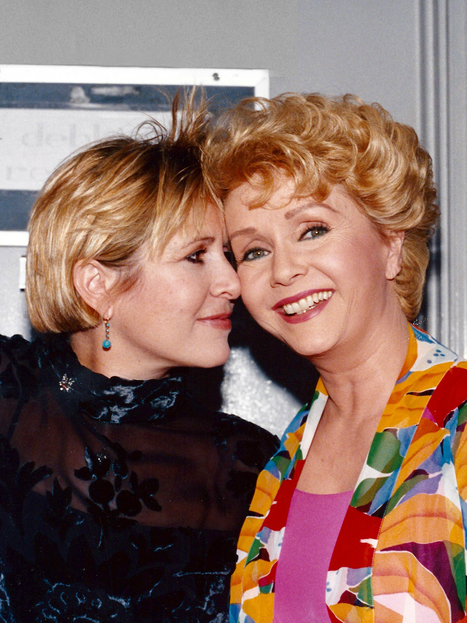 Singin' in the Rain Star Debbie Reynolds Dies One Day After Daughter Carrie Fisher | Celebrity Culture and News... All things Hollywood | Scoop.it