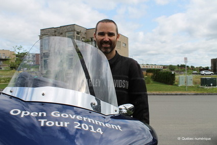 Le gouvernement ouvert traverse le Canada en moto   gillieronstephane   Scoop.it