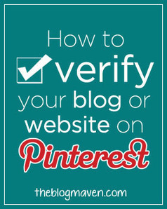 How to Verify Your Blog (or Website) on Pinterest | Pinterest | Scoop.it