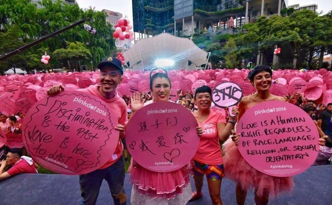 Singapore: LGBT rally Pink Dot smashes local sponsorship target