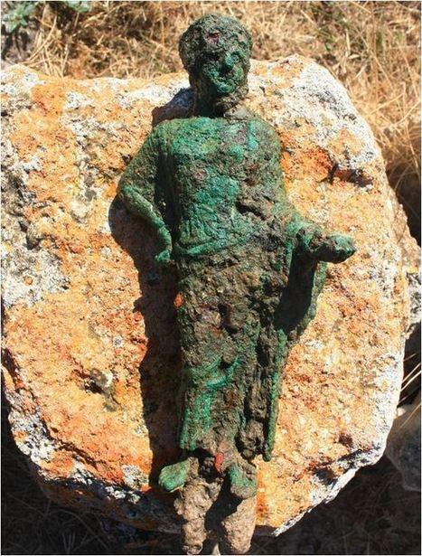 Hallan en Tarquinia (Italia) dos raras estatuillas femeninas de época etrusca   historian: science and earth   Scoop.it