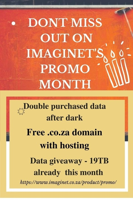 Don't miss out on our birthday specials this month - Imaginet Blog | Social media and the Internet | Scoop.it