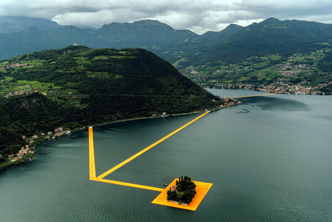 """Christo: """"The Floating Piers"""" 