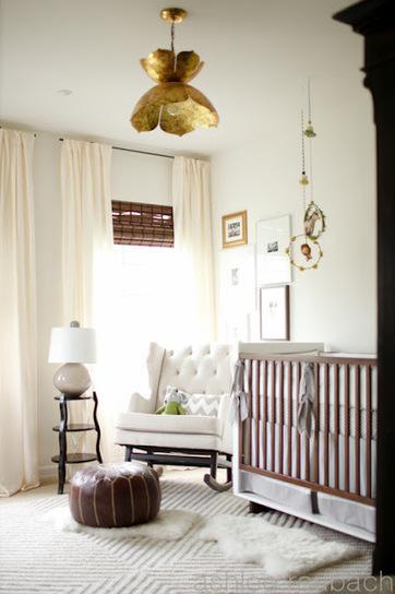 Une jolie chambre de bébé très chic !   décoration & déco   Scoop.it