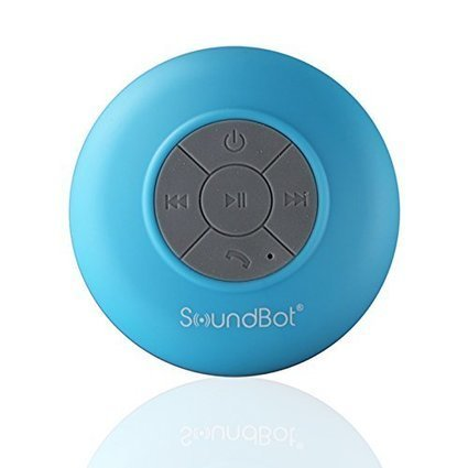 SB510 HD Water Resistant Bluetooth 3.0 Shower Speaker Handsfree Porta SoundBot