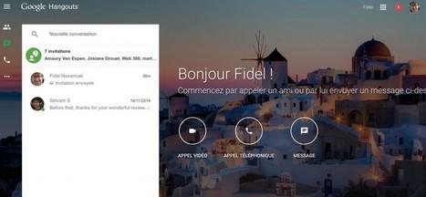 Un site à part entière pour Google Hangouts - Les Outils Google | Former_a_distance | Scoop.it