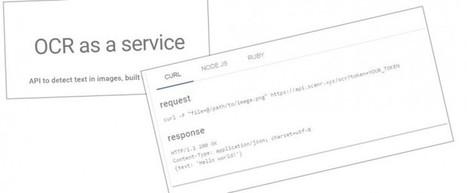 ScanR, API para extraer textos de imágenes | Impuls a la lectura | Scoop.it