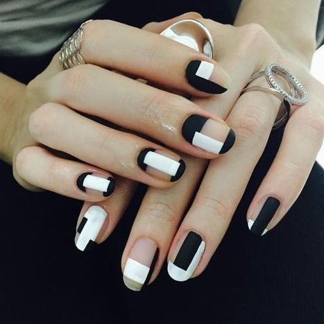 How To Do Marble Nails At Home Stylish