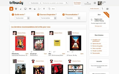 Tribway, le premier site de Shopping social en France | Actu - ergonomie et parcours  web | Scoop.it