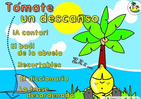 Pasatiempos de verano :: Isla Divertida   Lo lúdico y el humor en la clase de E_LE   Scoop.it