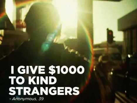 AD OF THE DAY: Coke Films A Guy Who Randomly Gives People $1,000 | TheBottomlineNow | Scoop.it