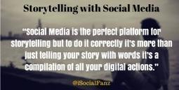 9 Ways to Utilize Social Media for Storytelling!   Digital Storytelling   Scoop.it