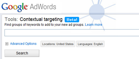 It's Official: Google Wonder Wheel is Back, and It's Called the Contextual Targeting Tool [Tutorial] | DV8 Digital Marketing Tips and Insight | Scoop.it
