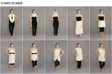 revolution apparel: One Garment, 15 Ways, 100% Recycled - Culture-ist | Ecofashion | Scoop.it