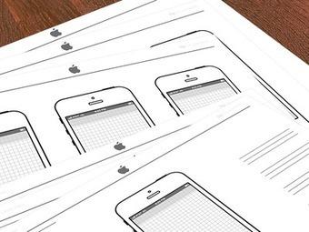 Dribbble - iPhone Sketch Template by D. Moore | Tips&Tricks | Scoop.it