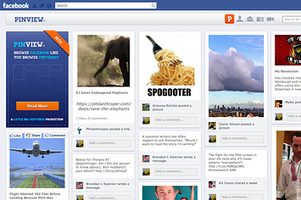 Pinview Turns Facebook Into Pinterest   Everything Pinterest   Scoop.it