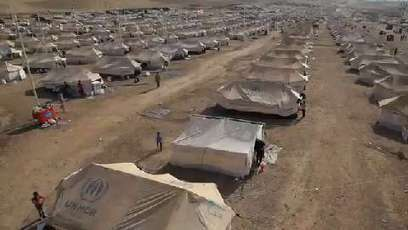Iraq: Temporary Shelter for Syria's Refugees | Un poco del mundo para Colombia | Scoop.it