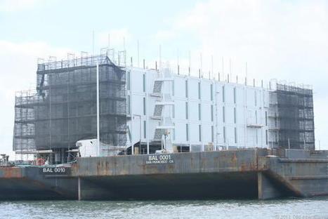 USA : Google détruit l'une de ses mystérieuses constructions flottantes | Geeks | Scoop.it