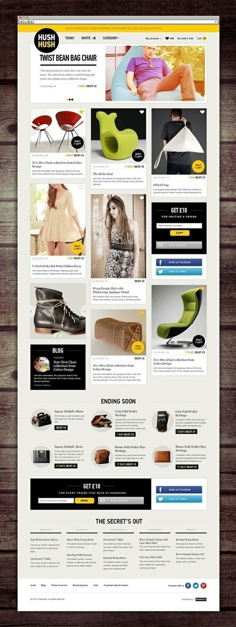 Web design inspiration | #698 - From up North | le webdesign | Scoop.it