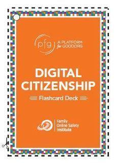 Digital Citizenship Flashcards | iDEAS | Scoop.it